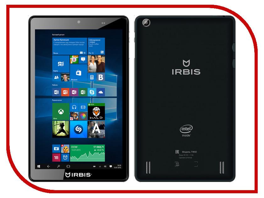 Планшет Irbis TW82 (Intel Atom Z3735G 1.33 GHz/1024Mb/16Gb/3G/Wi-Fi/Cam/8.0/1280x800/Windows 10)<br>