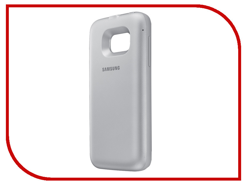 Аксессуар Чехол-аккумулятор Samsung Galaxy S7 Power Cover Silver EP-TG930BSRGRU samsung ep tg930 backpack чехол аккумулятор для galaxy s7 black
