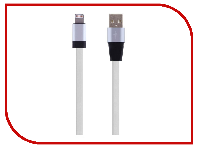 Аксессуар Perfeo USB - 8 pin Lightning 1.2m White I4508<br>