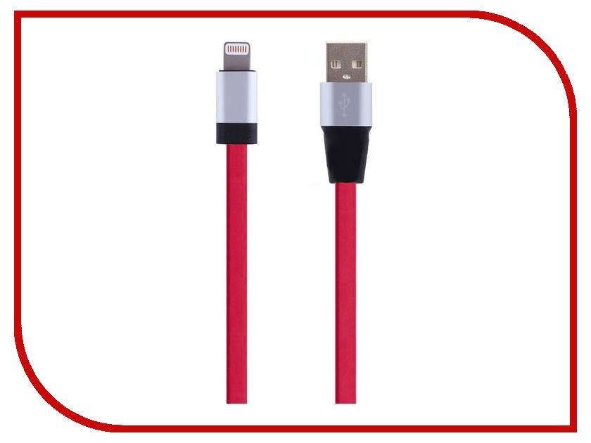 Аксессуар Perfeo USB - 8 pin Lightning 1.2m Red I4501<br>