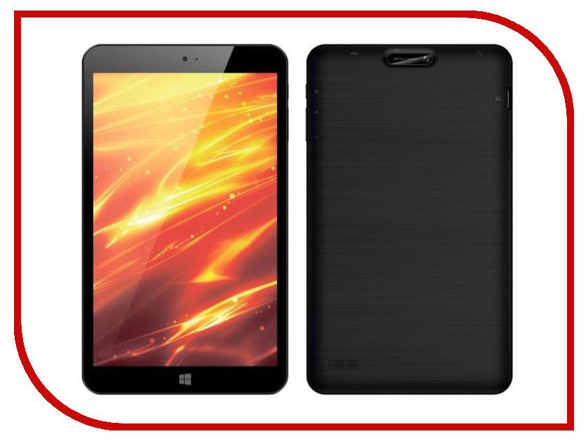 Планшет 4Good T803i 3G Black Intel Atom Z3735G 1.33 GHz/1024Mb/16Gb/3G/Wi-Fi/Bluetooth/Cam/8.0/1280x800/Windows 10<br>