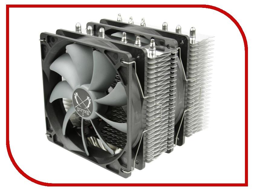 Кулер Scythe Fuma SCFM-1000 (Intel LGA775/1150/1151/1151/1155/1156/1366/2011/AMD AM2/AM2+/AM3/AM3+/FM1/FM2/FM2+) кулер scythe katana 3 for amd white box scktn 3000a amd am2 am2 am3 am3 fm1 s754 s939 s940
