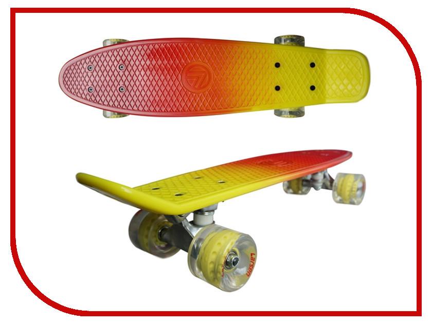 Пенниборд Larsen BKA0020Q Red-Yellow<br>
