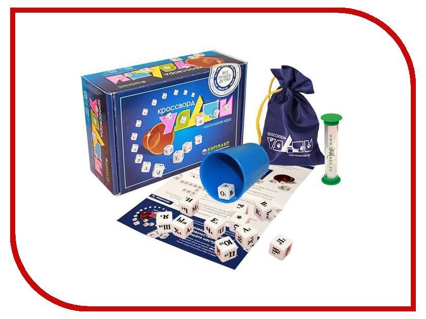Настольная игра Биплант Кроссворд Удачи Blue 10038<br>