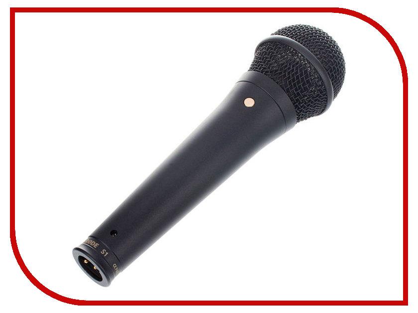 Микрофон Rode S1 Black