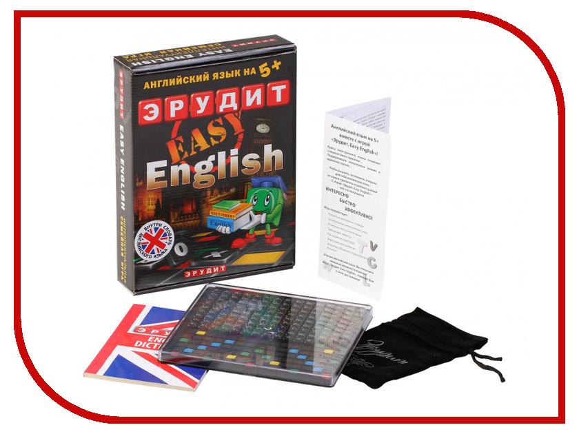 Настольная игра Биплант Эрудит Easy English 10007