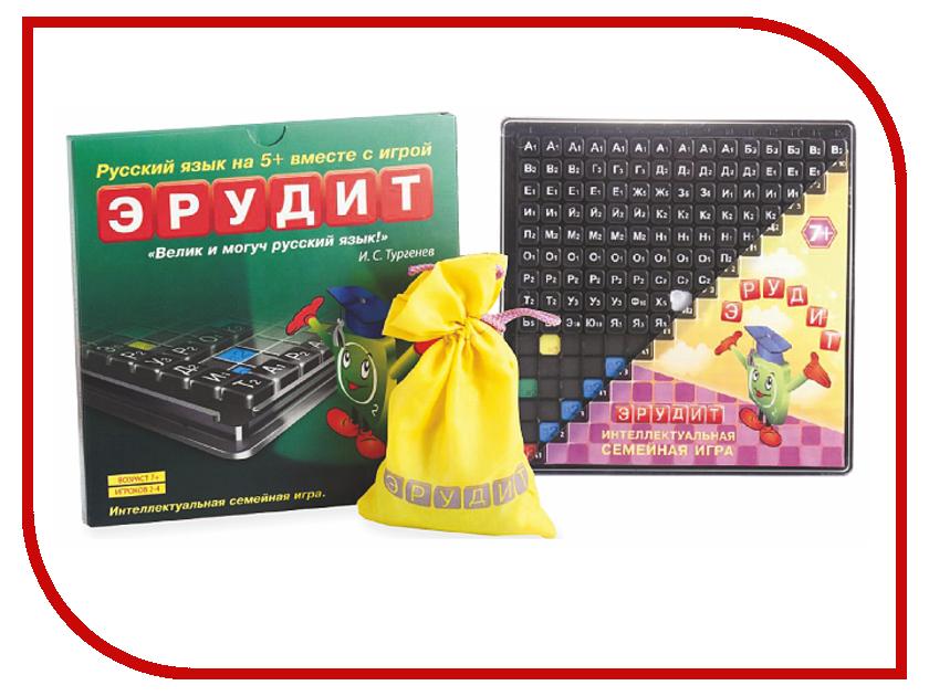 Настольная игра Биплант Эрудит Черные фишки 10017 настольная игра биплант эрудит сила магнита 10001