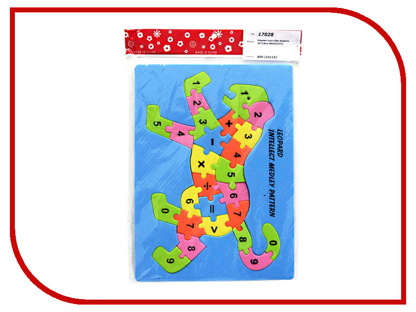 Игрушка Veld-Co Ева животные МК5043771 / 24115<br>