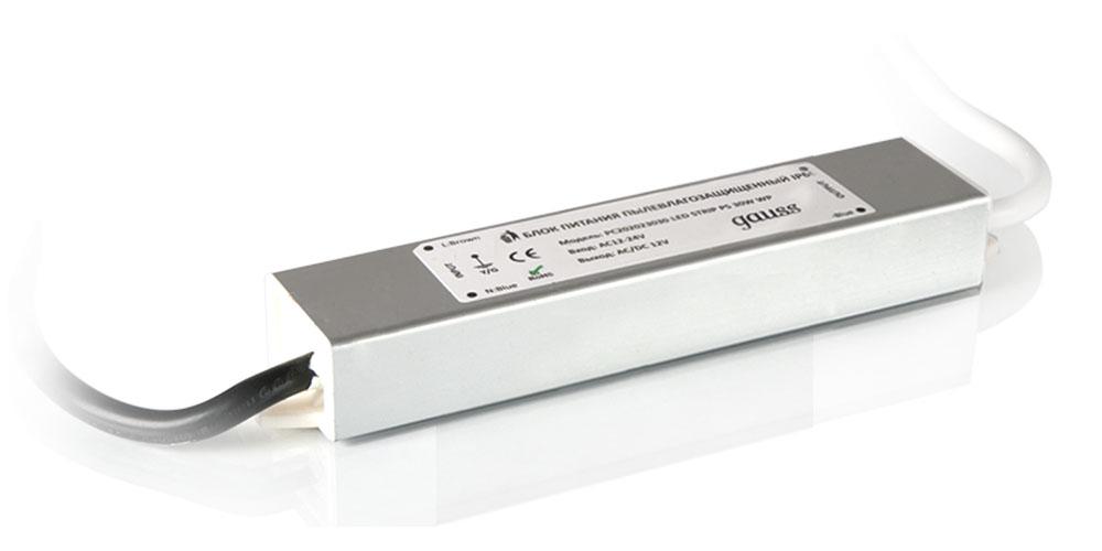 Блок питания Gauss 15W 12V IP66 PC202023015 / 202023015
