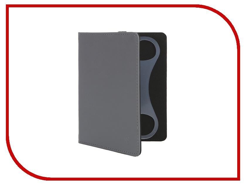 Аксессуар Чехол-обложка for Digma 6 Vivacase Basic Grey VDG-STER6BS102-gr<br>