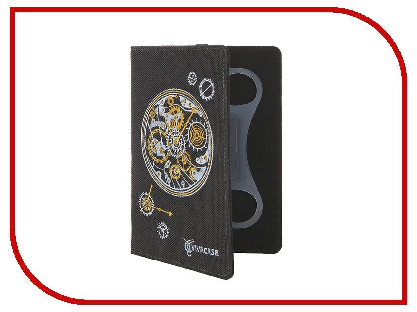 Аксессуар Чехол 7.0-inch Vivacase Clockwork универсальный Black VUC-CCW07-bl<br>