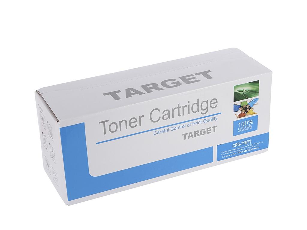 Картридж Target CRG-716Y