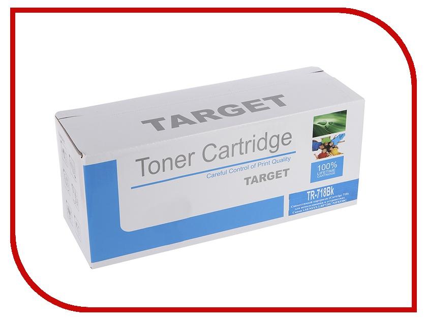 Картридж Target CRG-718K<br>