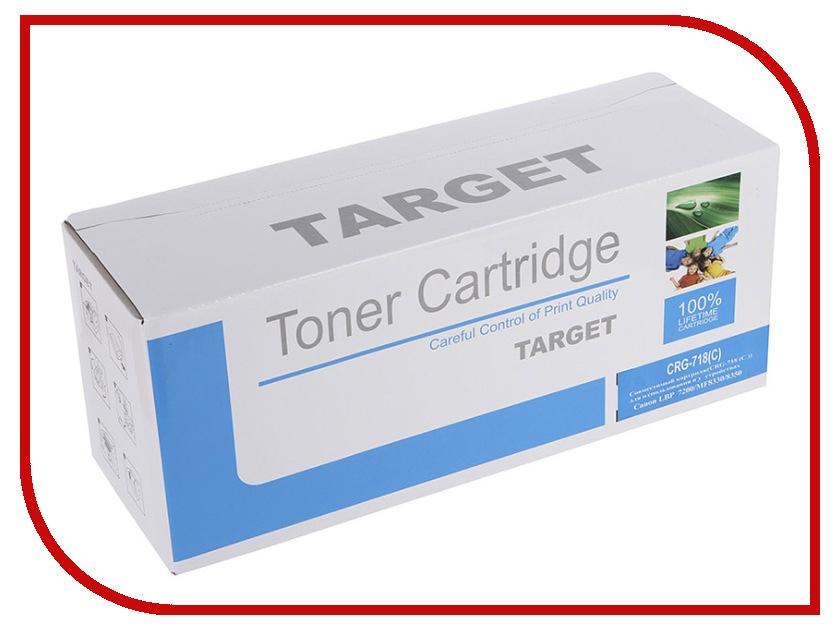 Картридж Target CRG-718C картридж target 109r00639
