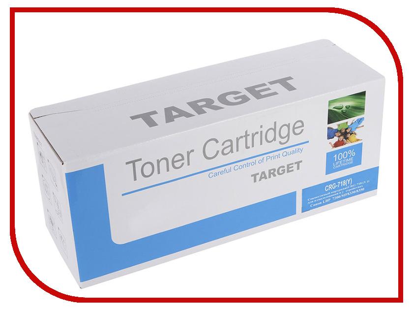 Картридж Target CRG-718Y картридж target 109r00639