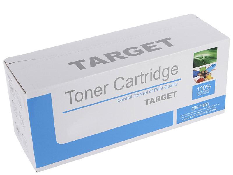 Картридж Target CRG-718Y утюг braun texstyle ts320c бело фиолетовый
