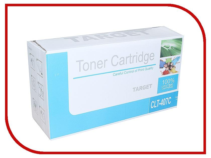 Картридж Target CLT-C407S<br>