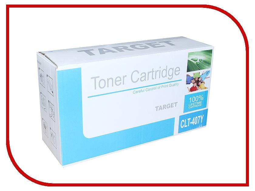 Картридж Target CLT-Y407S<br>