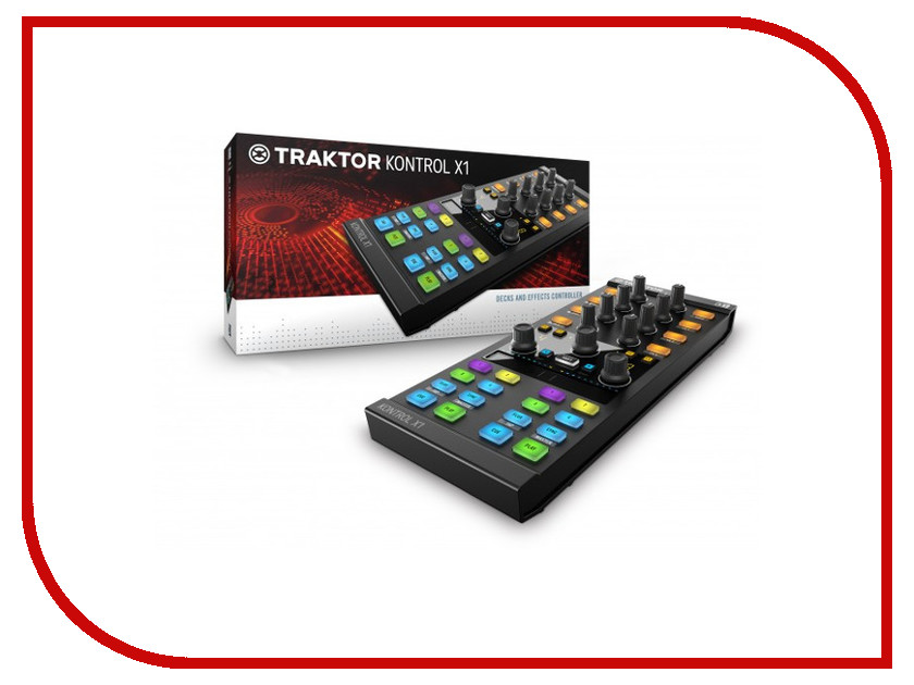 Контроллер Native Instruments Traktor Kontrol X1 Mk2<br>