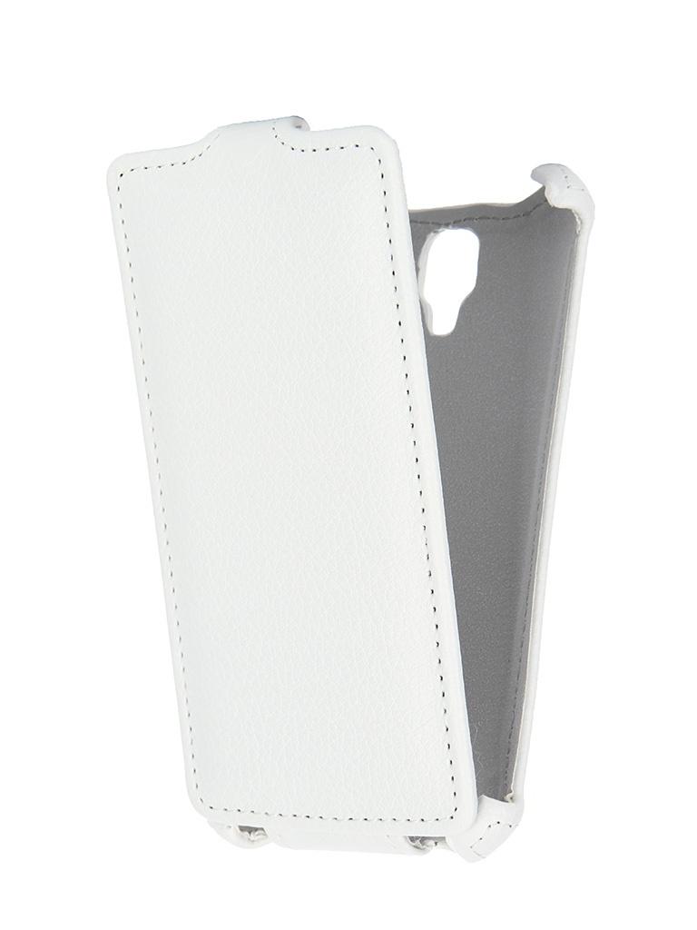 Аксессуар Чехол Lenovo A1000 Gecko White GG-F-LENA1000-WH<br>