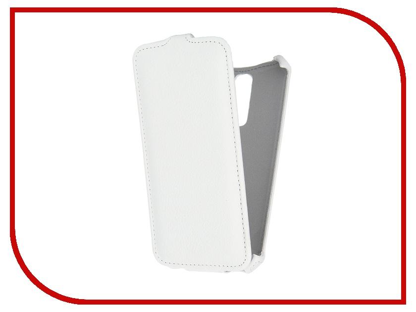 Аксессуар Чехол LG K10 Gecko White GG-F-LGK10-WH<br>