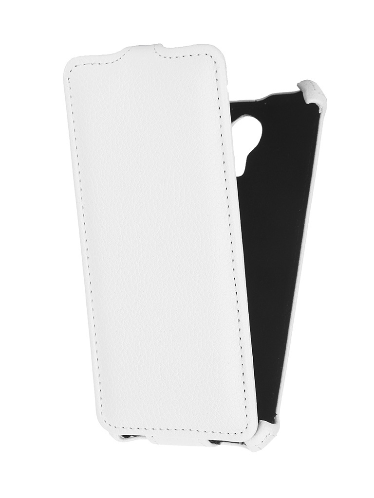 Аксессуар Чехол-флип Micromax E313 Canvas Xpress 2 Gecko White GG-F-MICE313-WH<br>