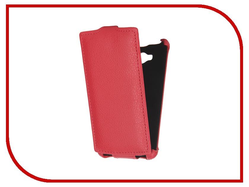Аксессуар Чехол-флип Philips S307 Gecko Red GG-F-PHS307-red<br>
