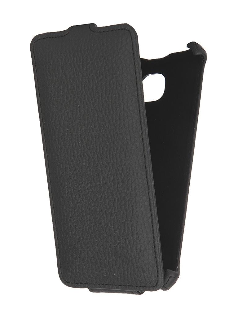 Аксессуар Чехол-накладка Samsung Galaxy A7 2016 Gecko Black GG-F-SGA7-2016-BL<br>