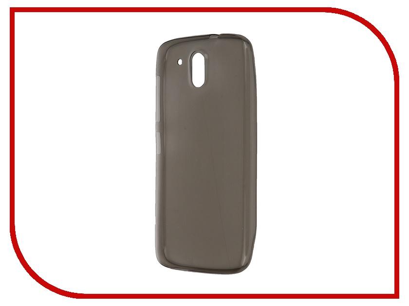 Аксессуар Чехол HTC Desire 526 Krutoff Transparent-Black 10686<br>
