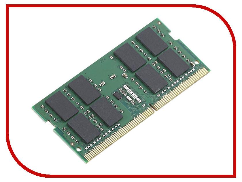 Модуль памяти Kingston ValueRAM DDR4 SO-DIMM 2133MHz PC4-17000 CL15 - 8Gb KVR21S15D8/8<br>