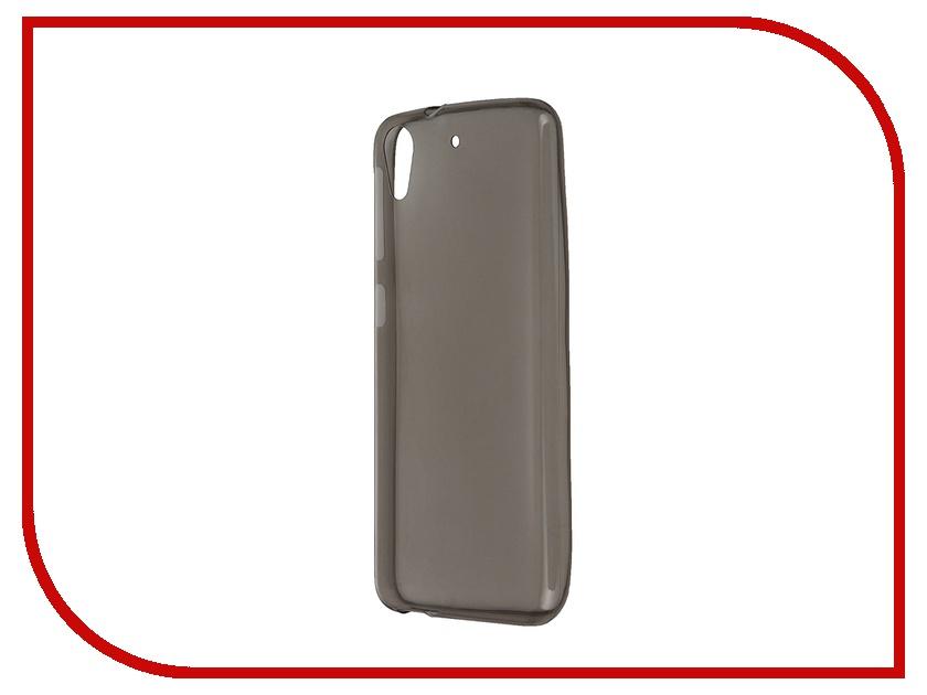 Аксессуар Чехол Zibelino for HTC Desire 626 / 626G Dual Sim / 626G+ Dual Sim / 628 Krutoff Transparent-Black 10696