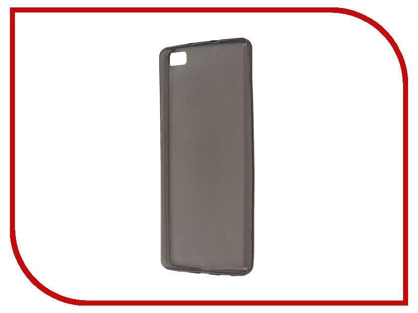все цены на Аксессуар Чехол Huawei P8 Lite Krutoff Transparent-Black 11596