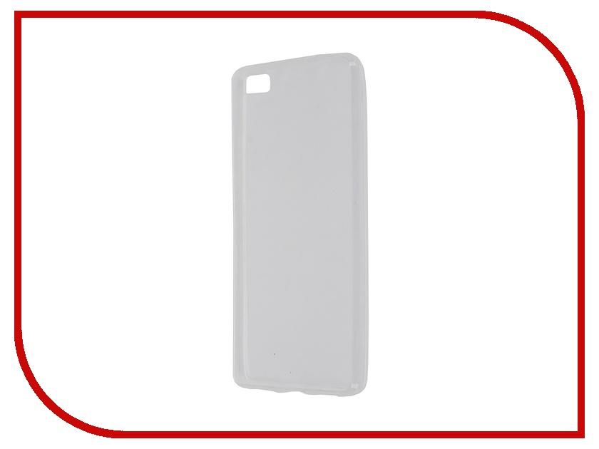 Аксессуар Чехол Huawei P8 Lite Krutoff Transparent 11595<br>