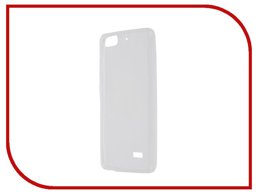Аксессуар Чехол Huawei Honor 4C Krutoff Transparent 11591 аксессуар защитное стекло krutoff front