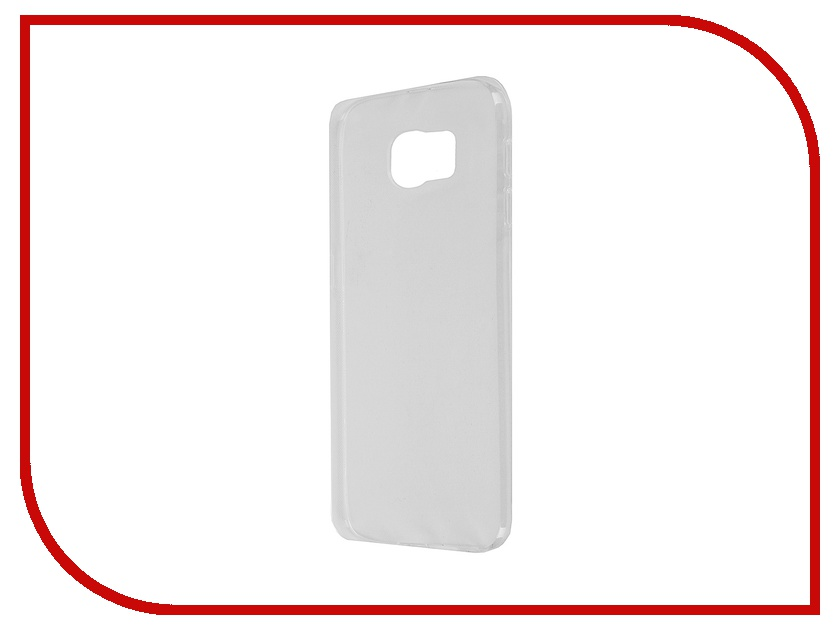 Аксессуар Чехол-накладка Samsung SM-G920F Galaxy S6 Krutoff Transparent 11507<br>