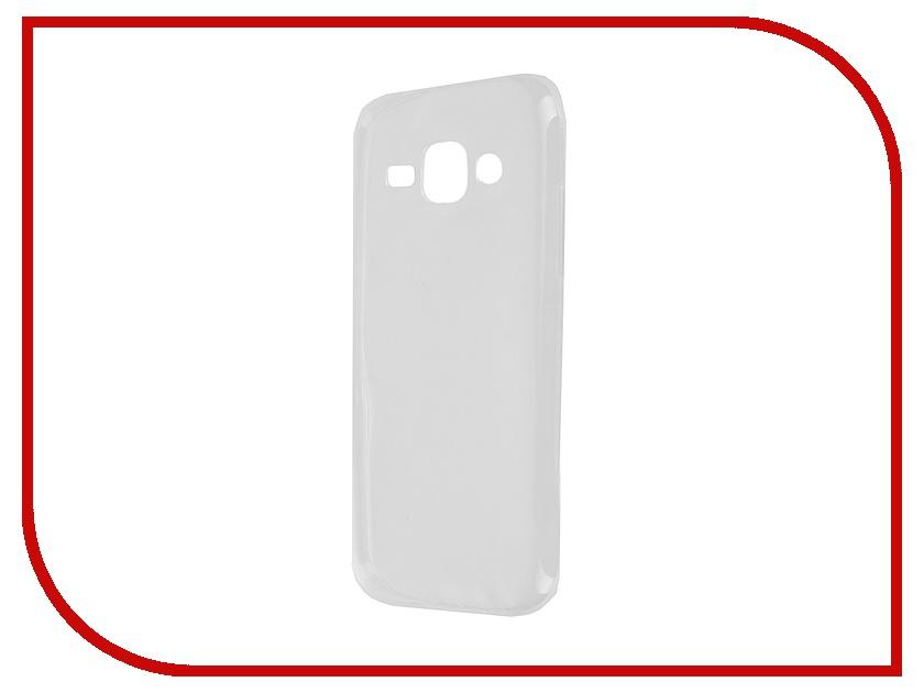 Аксессуар Чехол-накладка Samsung SM-J100FN Galaxy J1 Krutoff Transparent 11521<br>