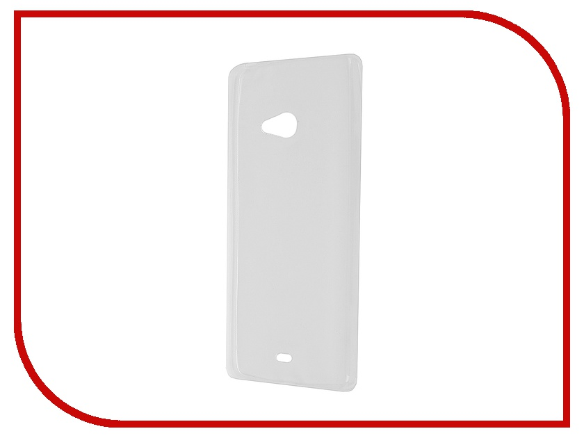 Аксессуар Чехол Microsoft Lumia 540 Krutoff Transparent 11609