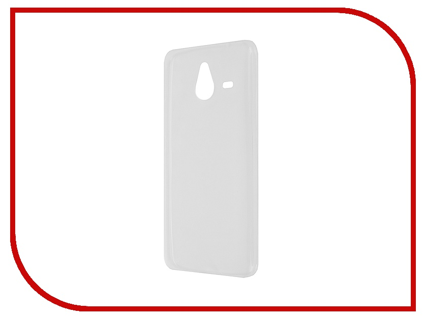 Аксессуар Чехол Microsoft Lumia 640 XL Krutoff Transparent 11611<br>