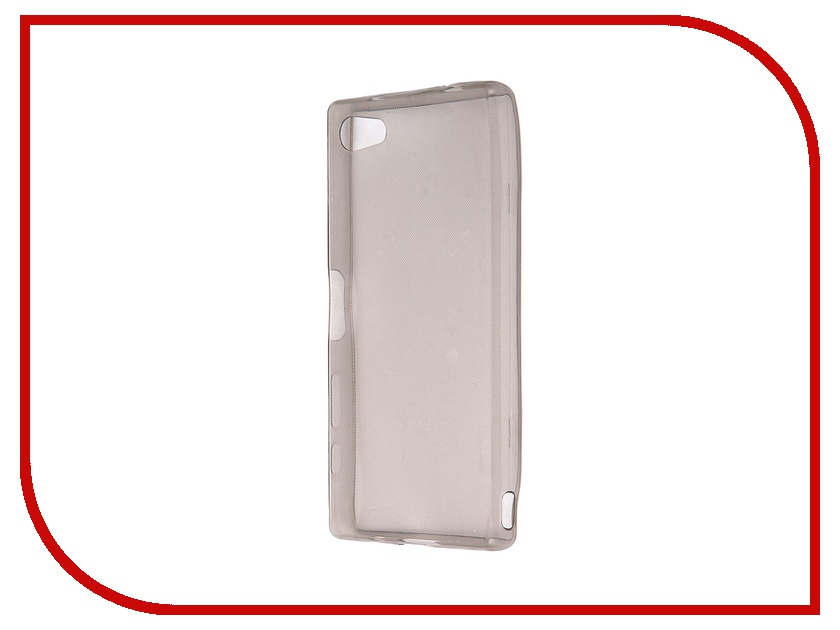 Аксессуар Чехол Sony Xperia Z5 Compact Krutoff Transparent-Black 11720<br>