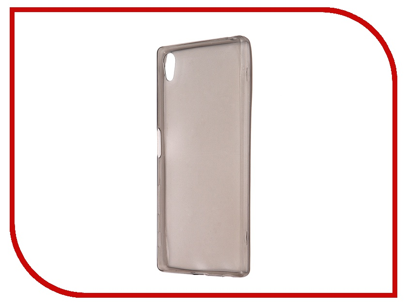 Аксессуар Чехол Sony Xperia Z5 Krutoff Transparent-Black 11722<br>