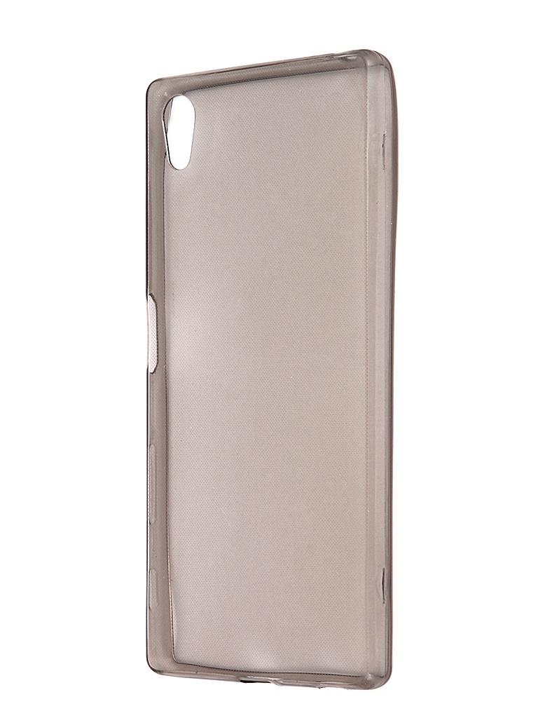 Аксессуар Чехол Sony Z5 Krutoff Transparent-Black 11722<br>