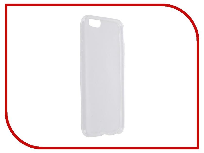 Аксессуар Чехол Krutoff для iPhone 6 Transparent 10673<br>