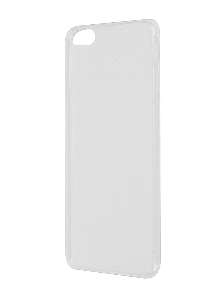 Аксессуар Чехол Krutoff для iPhone 6 Plus Transparent 10676<br>