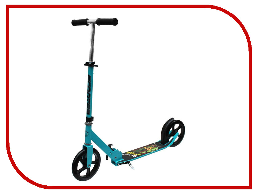 Самокат 21st Scooter SKL-037-4 Turquoise-Black