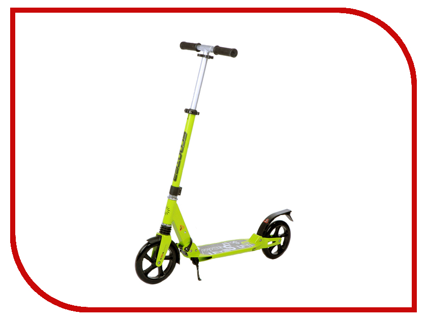 Самокат 21st Scooter SKL-03D Green