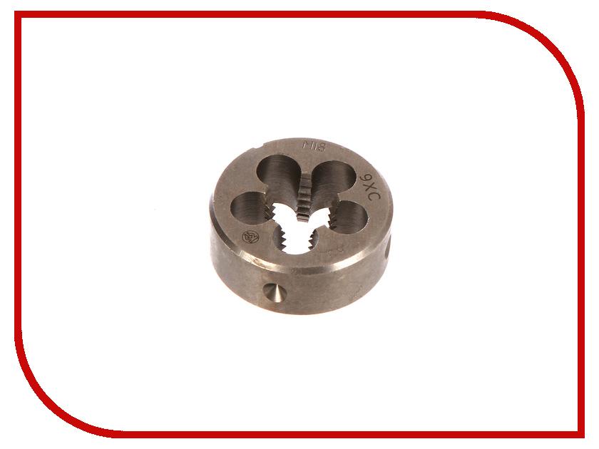 Плашка Калибр М18х2,5mm 9ХС плашка круглая м12 0х1 75мм lh левая 9хс харьковский инструментальный завод 002947