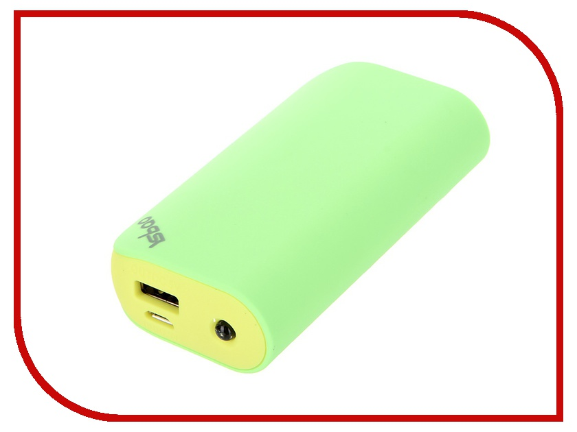 Аккумулятор YSbao YSB-M1 5200 mAh Green and Light Green 48314<br>