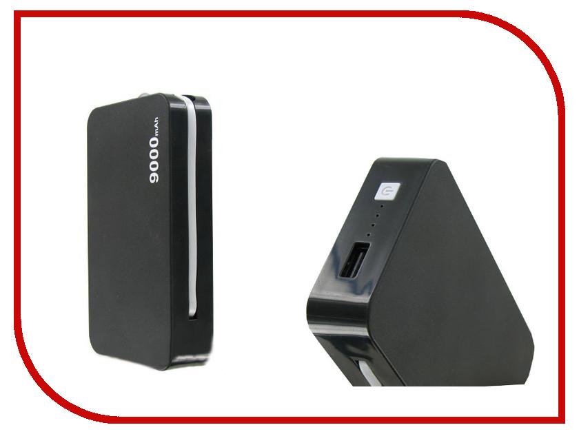 Аккумулятор Krutoff H4 9000 mAh Black 48198 аксессуар чехол аккумулятор krutoff x4 3800 mah для iphone 6 black 48186