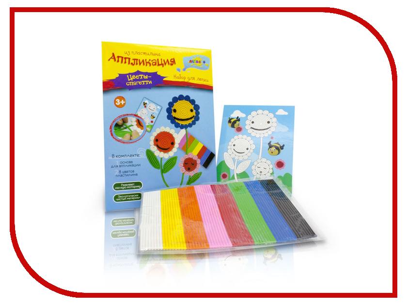 Набор для лепки Altacto аппликация из пластилина Цветы