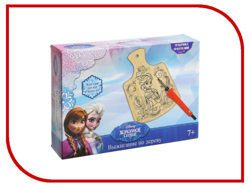 Аппарат для выжигания Фабрика Фантазий Disney Холодное Сердце: Эльза 20х28см 700-34044<br>